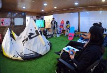 Kb boushehr04 220x150 - کارگاه تخصصی آشنایی با کلاس کایت بردینگ در بوشهر برگزار شد